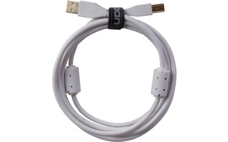 UDG Cable USB 2.0 A-B - Recto - Blanco - 1 Metro