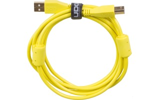 UDG Cable USB 2.0 A-B - Recto - Amarillo - 1 Metro