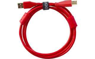 UDG Ultimate Cable USB 2.0 Tipo A >> B - Rojo - 2 metros