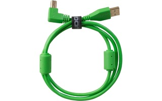UDG Ultimate Cable USB 2.0 A-B - Verde - Acodado 1 metro