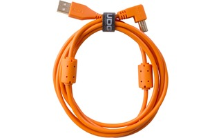 UDG U95004OR - ULTIMATE CABLE USB 2.0 A-B ORANGE ANGLED 1M