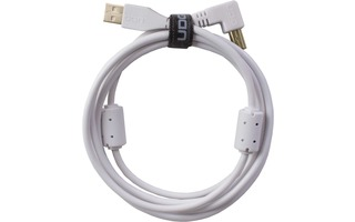 UDG U95004WH - ULTIMATE CABLE USB 2.0 A-B WHITE ANGLED 1M
