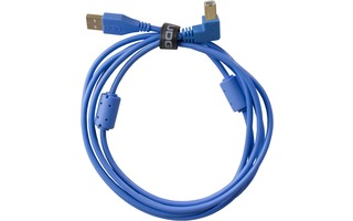 UDG Ultimate Cable USB 2.0 A-B - Azul - Acodado 2 metros