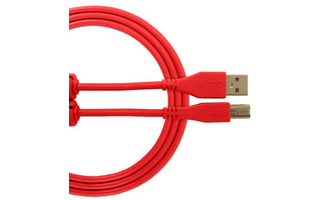 UDG Ultimate cable USB-c a USB-B 1.5 metros - Rojo