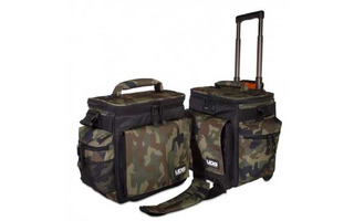 UDG Ultimate SlingBag Trolley Set DeLuxe Black Camo Orange Inside