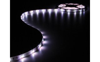 CINTA CON LEDs FLEXIBLE - RGB - 150 LEDs - 5m - 12V