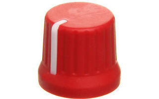 DJ TechTools Chroma Caps Fatty Knob Rojo