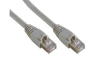 CABLE DE RED FTP, RJ45 APANTALLADO, CAT 5E (100Mbps), 2m