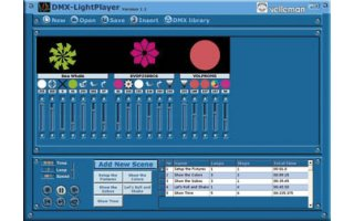 Imagenes de Interface DMX controlada por USB - K8062 - Kit Montaje