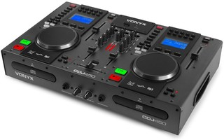 Imagenes de Vonyx CDJ450 Doble reproductor mezclador sobremesa CD/MP3/USB con Bluetooth