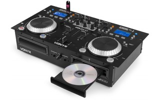 Imagenes de Vonyx CDJ500 Doble reproductor con amplificador CD/MP3/USB/Bluetooth