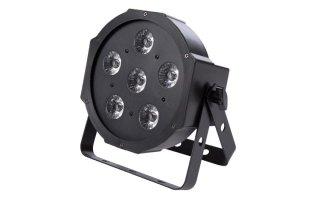 Foco par led 6 x 3 w uv peque o formato djmania for Focos led pequenos