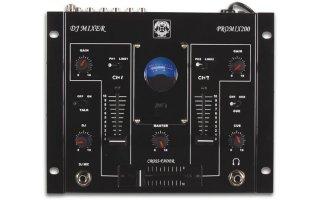 Mesa de mezclas est reo profesional de 2 canales con canal para micro dj v metros djmania - Mesa de mezclas 2 canales ...