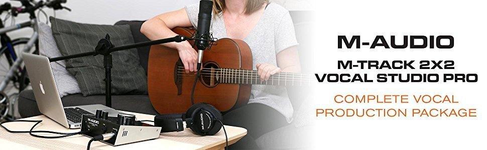 M-Audio M-Track Vocal 2x2