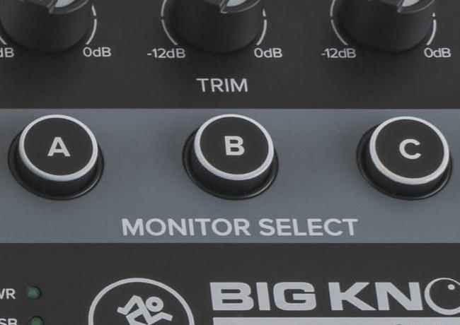 Big Knob offers proven, professional source and monitor selection