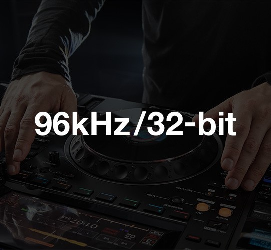 CDJ-3000 Resolución 96kHz/32-bit