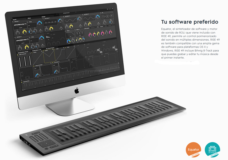 Roli Equator Software
