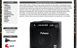 Amplificador de Guitarra Palmer FAT50