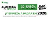 Financiación Black Friday: Empieza a pagar en Febrero y sin intereses TAE