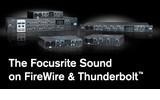 Compatiblidad total en Focusrite Saffire y Thunderbolt