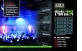 Amplificadores DAP Audio CX