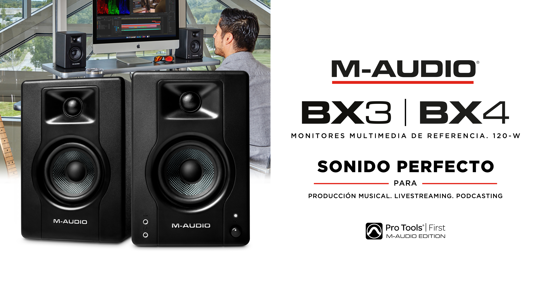 Altavoces multimedia BX3 & BX4