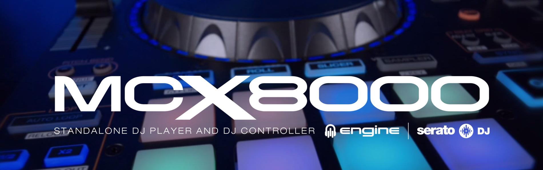 Nuevo Denon MCX8000: Reproductor digital autónomo + Controlador DJ para  Serato - DJMania