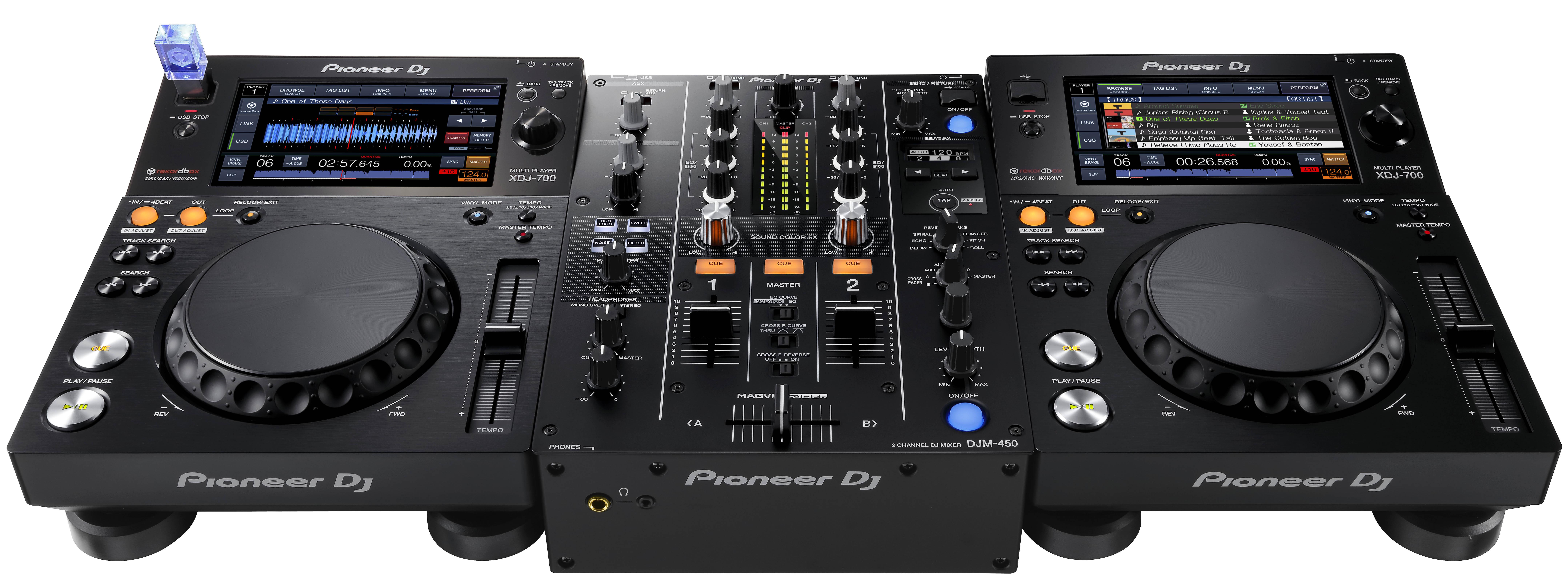 Nueva mesa de mezclas de 2 canales pioneer djm 450 djmania - Mesa dj pioneer ...