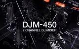 Nueva mesa de mezclas de 2 canales Pioneer DJM-450