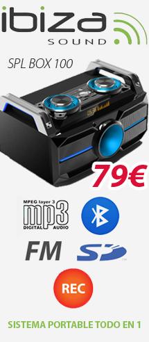 Ibiza SPL BOX 100
