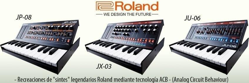 Roland Boutique - de nuevo en Stock