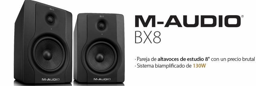 Monitores de estudio M-Audio BX8