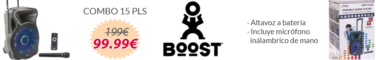 BoosT Combo 15 - Party Light & Sound