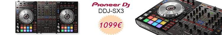 Pioneer DDJ SX 3 - Controladora DJ