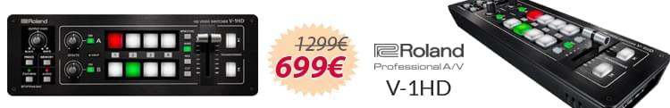 Roland V1 HD 799€