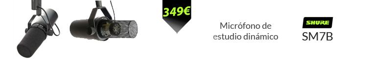 shure sm7b mejor precio oferta