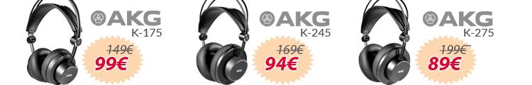 Auriculares hifi estudio akg mejor precio oferta