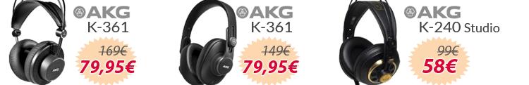 auriculares akg K mejor precio oferta