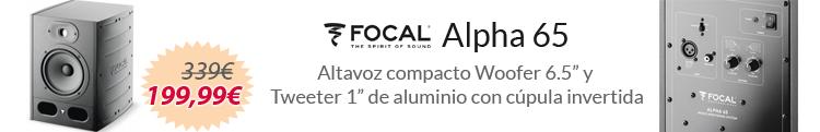 Focal alpha 65 oferta mejor precio