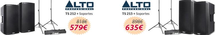 Sets alto ts212 y ts215 con soportes