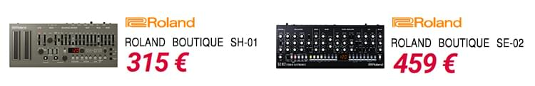Roland SE 02 + SH 01 - Black Friday 18 DJ