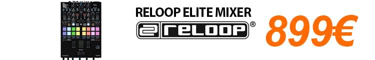 Reloop Elite Mixer Scratch - Black Friday DJ