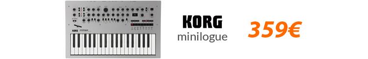 korg minilogue black friday oferta
