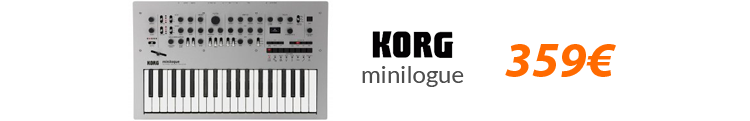 korg minilogue black friday oferta