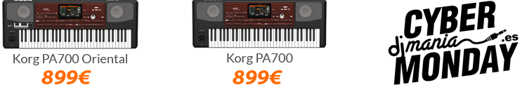 korg pa 700 black friday oferta