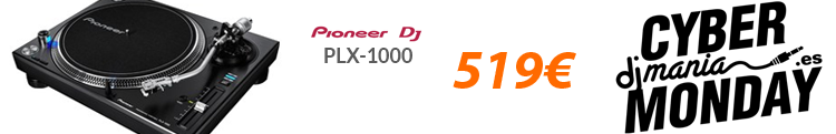 Pioneer PLX 1000 black friday oferta