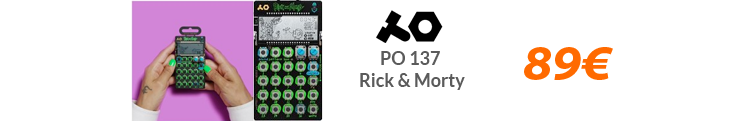 Pocket Operator PO 137 - Rick & Morty black firday oferta