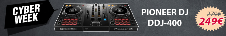 Pioneer DDJ 400 - Black Friday 2020