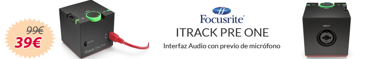 Itrack Pre One - Focusrite Black Friday
