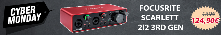 Focusrite Scarlett 2i2 - Black Friday